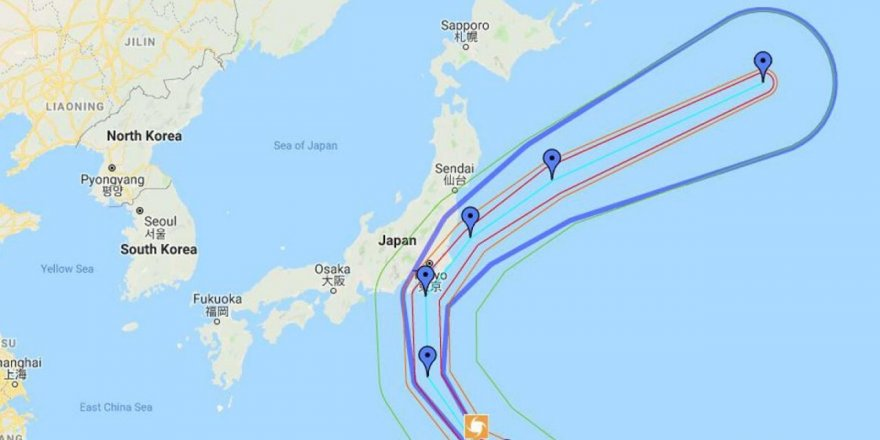 Typhoon Faxai hits Tokyo, causing chaos which includes several maritime accidents