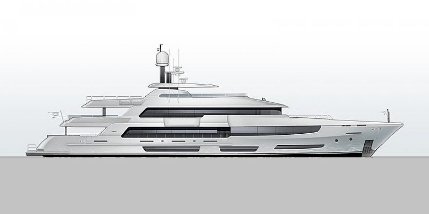 Crescent is building the largest motor yacht in Canada