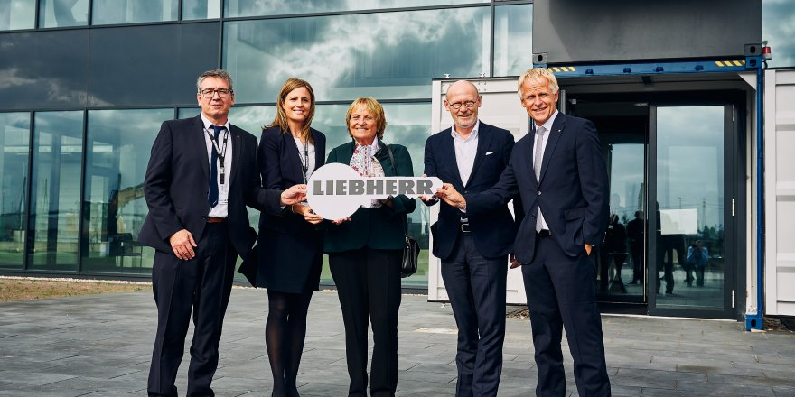 Liebherr has announced their new subsidiary in Hamburg Port