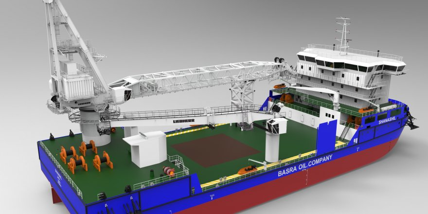 First offshore crane order in Turkey