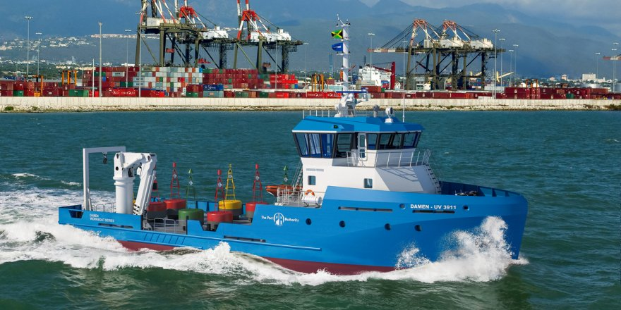 Damen signs with Port Authority of Jamaica