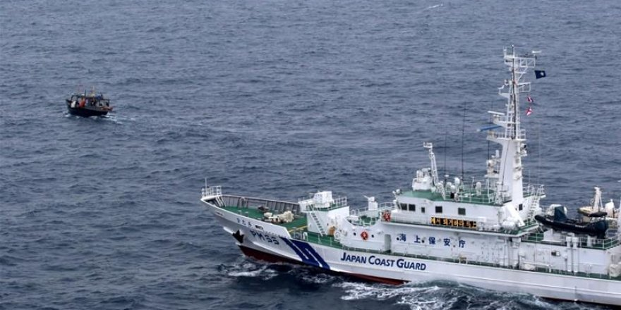 North Korean fishing vessel sank after accident with Japan patrol boat