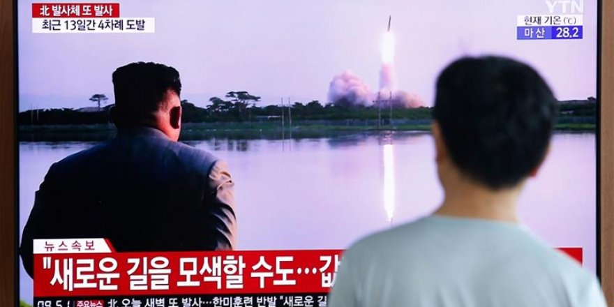 North Korea fired a projectile from a submarine toward its eastern sea