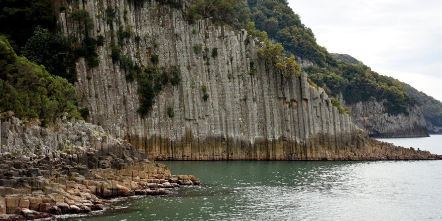 Rare basalt columns of Turkey waits for visitors