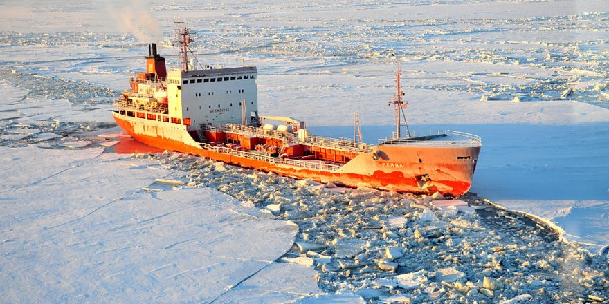The world's largest polar expedition ship started her journey