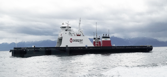 SFC Announces Arrival of First New LNG Fuelled Vessel
