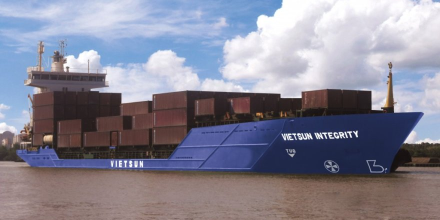 Container ship sank in Vietnam, containers got lost