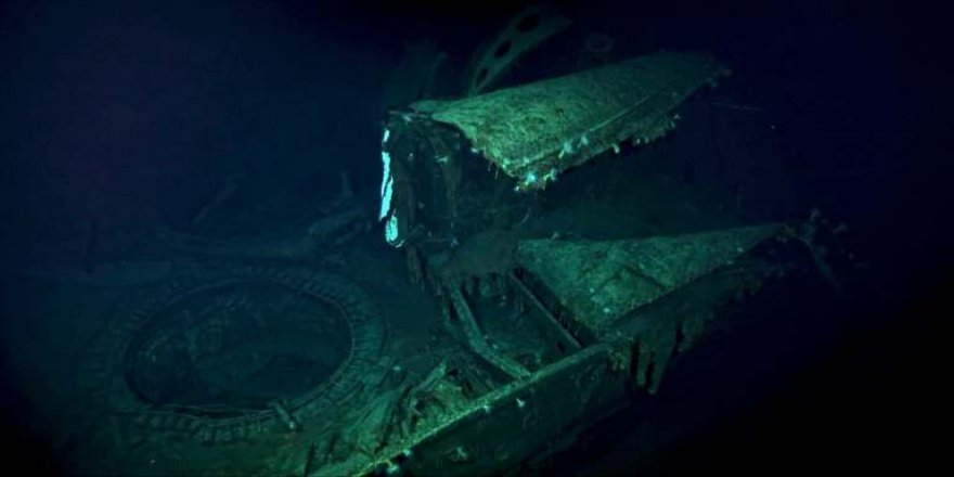 Explorers found a sunken aircraft carrier under the Pacific Ocean