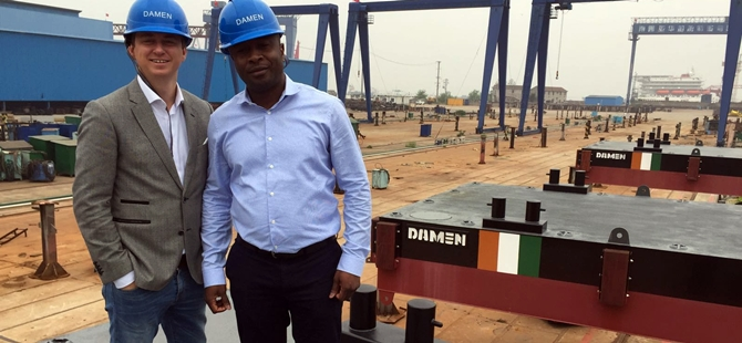 Damen continues contact with Ivory Coast
