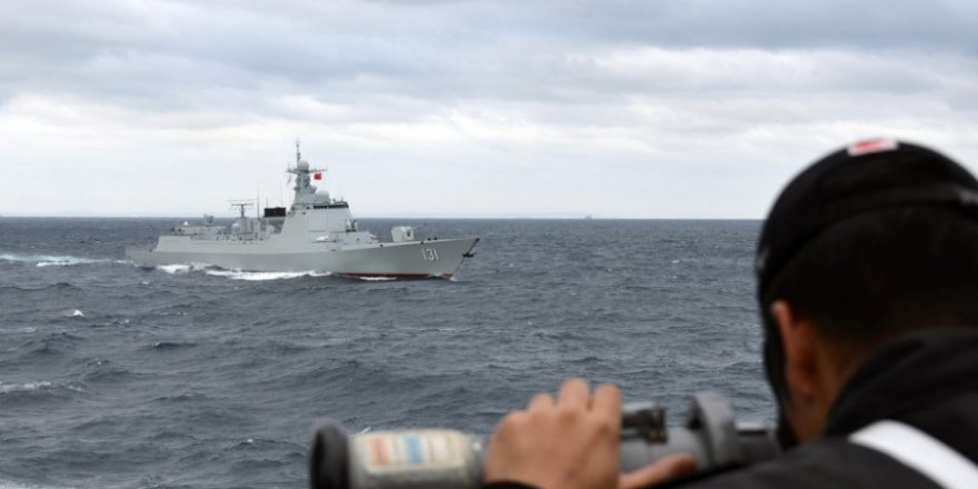 Japan conducted naval exercises with the Chinese Navy
