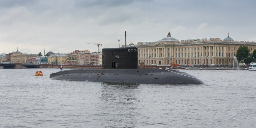Russia's newest submarine tests new weapons off Norway