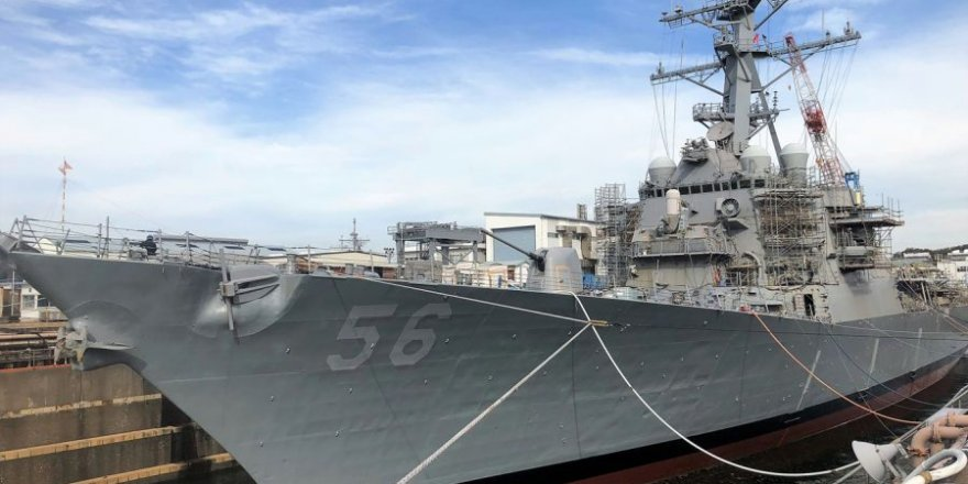 USS John S. McCain (DDG 56) repairs completed