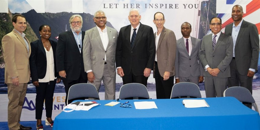 Carnival and Royal Caribbean to work together in Saint Lucia