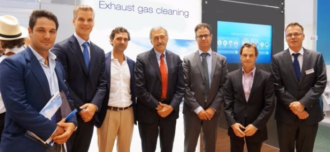 100th U-design Alfa Laval PureSOx scrubber will go to the Grimaldi Group