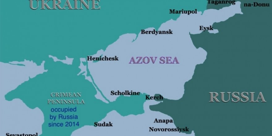 Russia blocked Azov sea for Ukrainian shipping