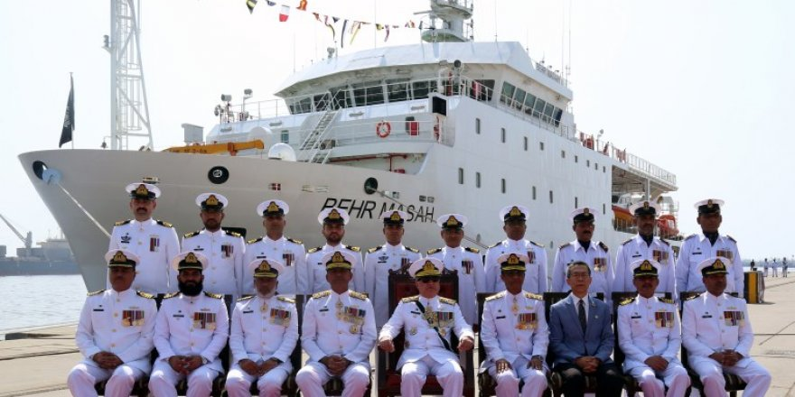 Pakistan Navy commissions research ship Behr Massah