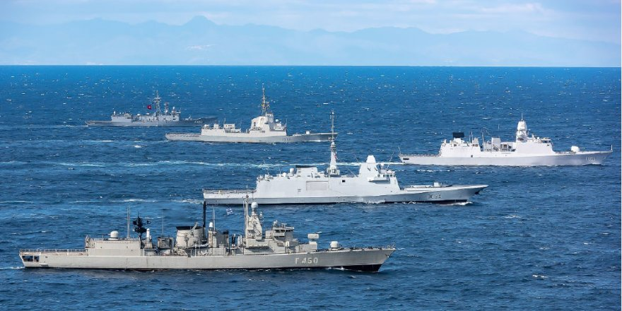 Egypt, Greece and Cyprus come together for military exercise in Med Sea
