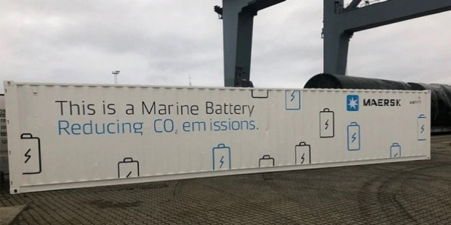 Maersk to test battery system to improve power production