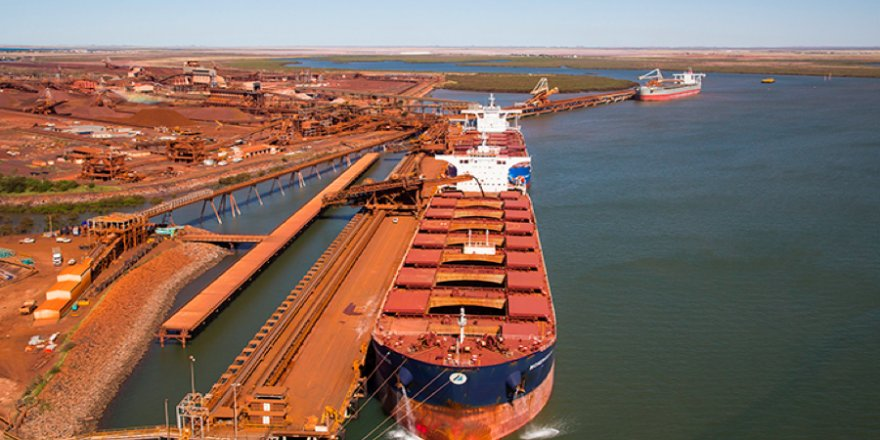 China iron ore port stocks continues to fall as port inventory rises