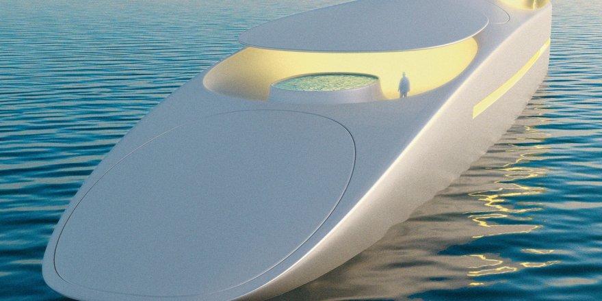 SuperYachtsMonaco has presented a futuristic superyacht project