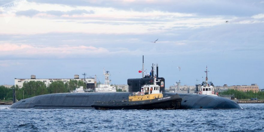 Borei class submarine of Russia has completed her trials