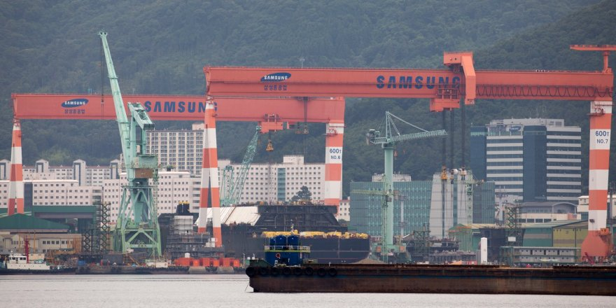 Samsung Heavy received a $1.5 billion LNG carrier order