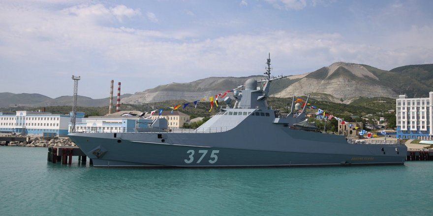 Black Sea Fleet ships completed exercise with Algerian Navy