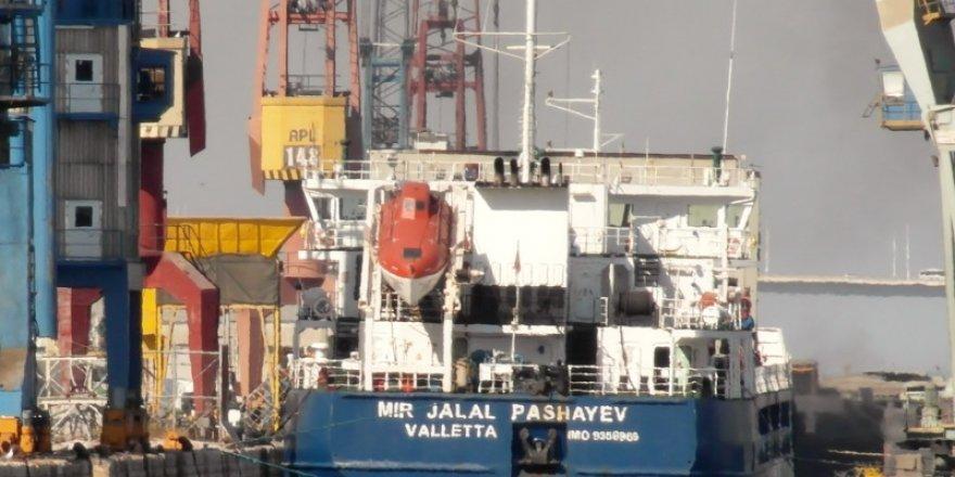 General cargo vessel bound for Turkey ran aground in Russia