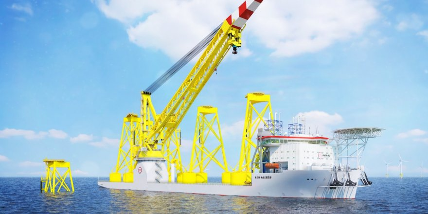 Jan De Nul orders a super-size crane vessel