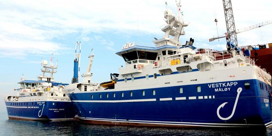 Tersan Shipyard delivered two sister fishing vessels to Ervik Havfiske Group