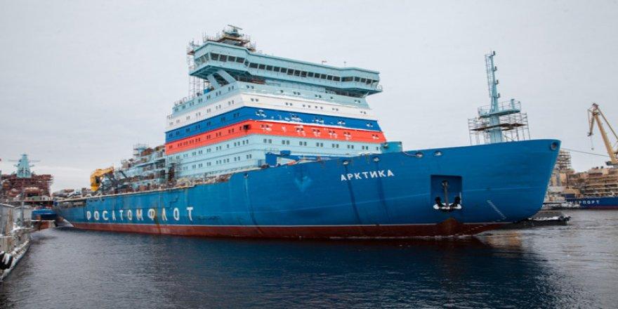 Russia's new icebreaker Arktika starts her sea trials
