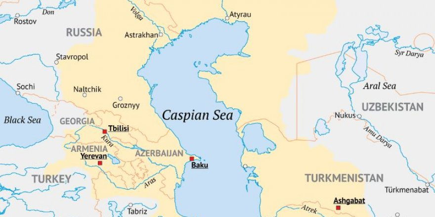Caspian Sea-Black Sea international transport route has been discussed