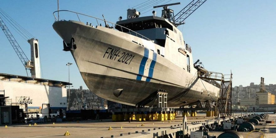 Israel delivers an offshore patrol vessel to Honduras