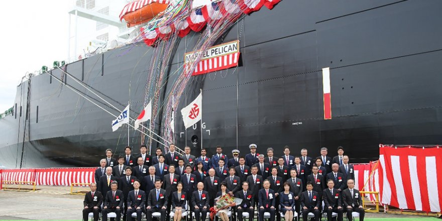 Kawasaki Heavy Industries delivers LNG carrier Marvel Pelican