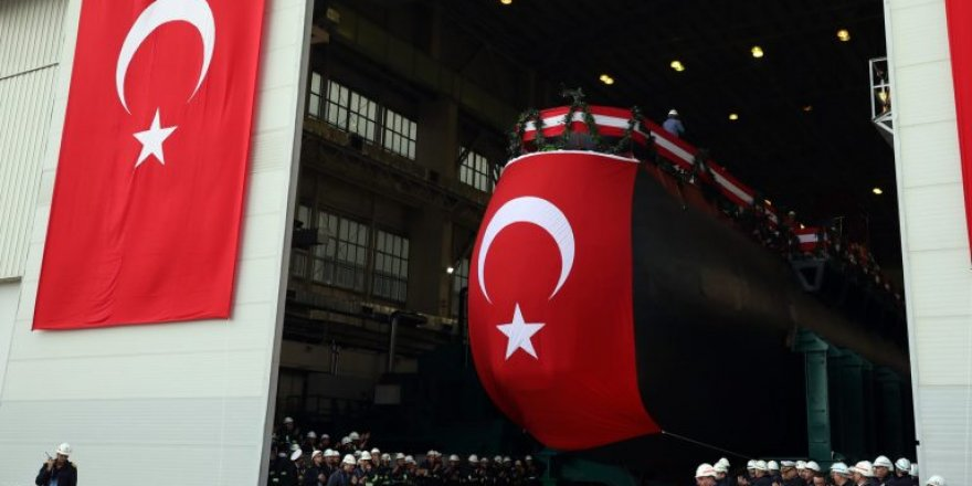 Turkish Navy launched their indigenous Type-214 AIP Submarine