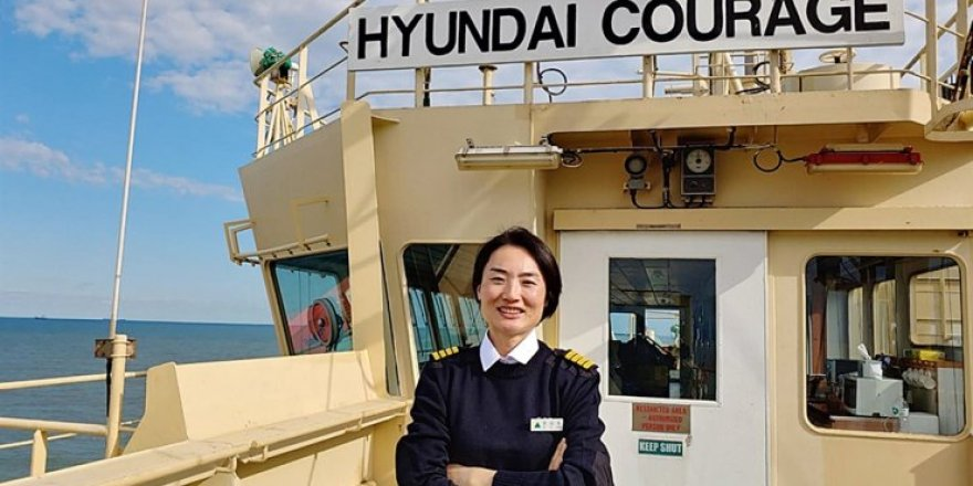 Jun Kyoung Ok becomes first female captain of flag carrying ship of South Korea
