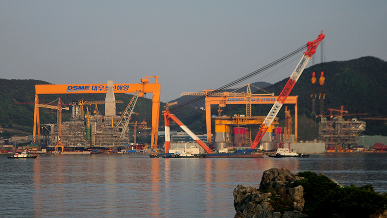 South Korean shipbuilders close the year at the top
