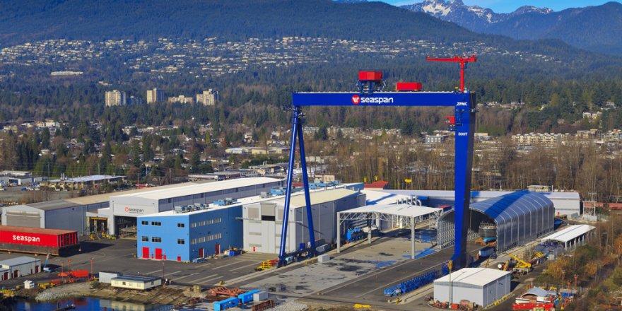 Seaspan Shipyards hosts ceremonial for Canadian Navy