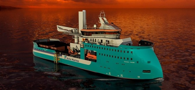 Acta Marine contracts Ulstein for wind vessel