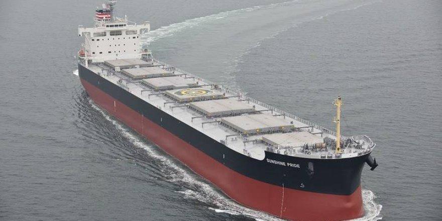 Coal Carrier Sunshine Pride Enters Service