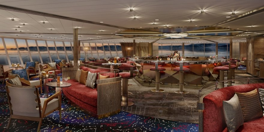 Seabourn reveals Constellation Lounge for Venture