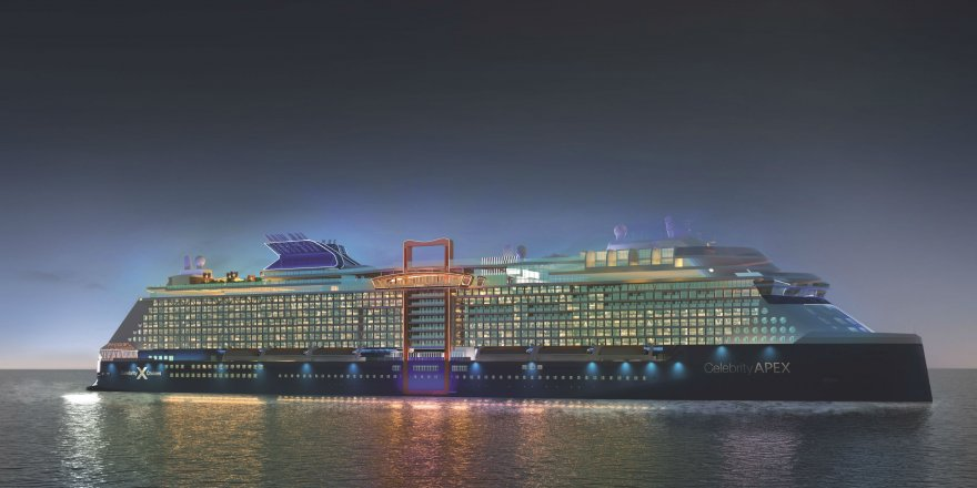 Celebrity reveals the first details of its new ship APEX