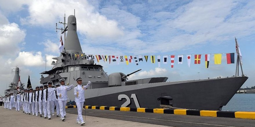 Singapore Navy commissioned three Littoral Mission vessels