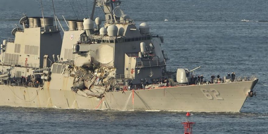 USS Fitzgerald returns to sea after repairs