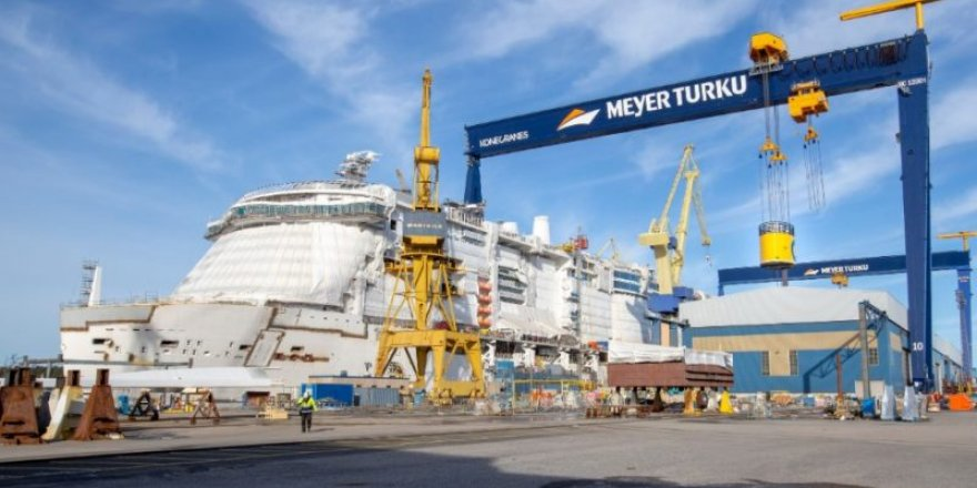 Meyer Turku launched the hull assembly of Costa Toscana