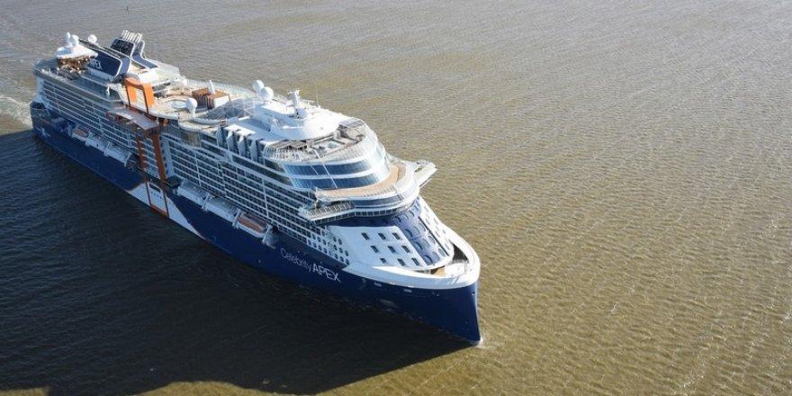 Celebrity Apex completes sea trials