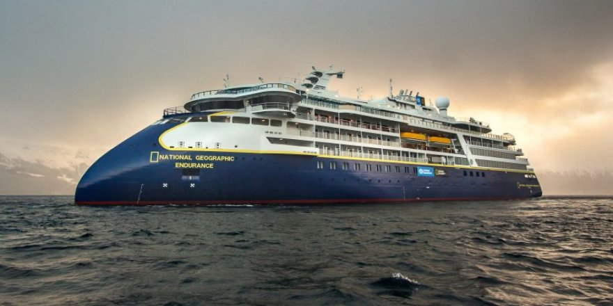 National Geographic Endurance successfully completed its first sea trials