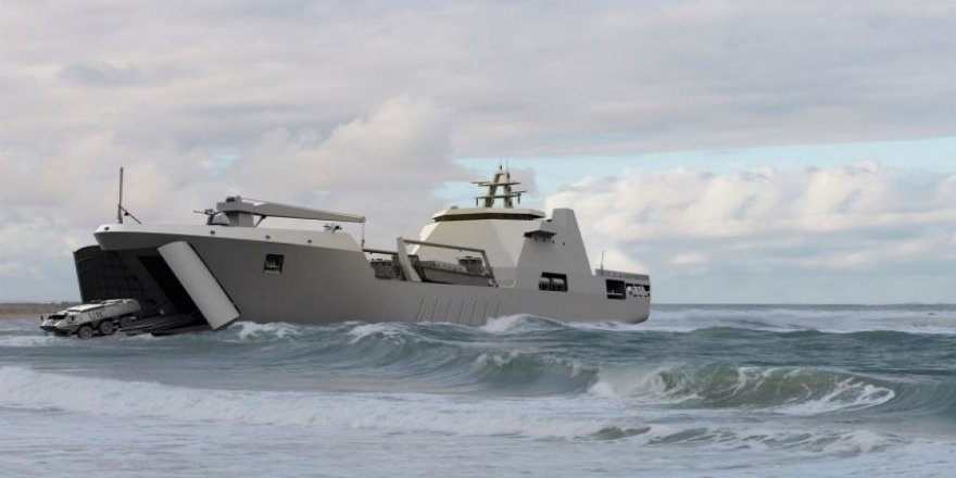 Damen Group held a keel-laid for Nigerian Navy landing craft