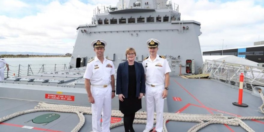 Australia receives delivery of NUSHIP