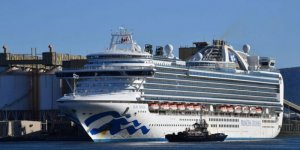 COVID-19 hit Carnival Cruise Ship docks in Australia